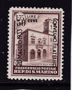San Marino a mint 50c on 1.75L MH from 1933