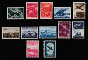 Bulgaria the 1940 Air set MH