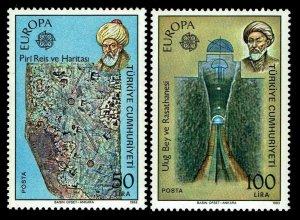 1983 Turkey #2246-47 Europa Issues - OGNH - VF/XF - $50.00 (ESP#4157)