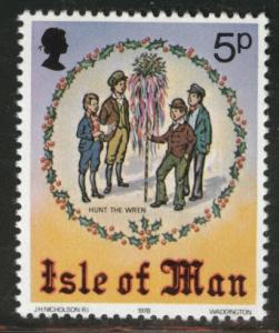 Isle of Man Scott 141 MNH** 1978 wren hunt stamp