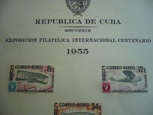 Scott# C126a - Cuba - Imperf Souvenir Sheet