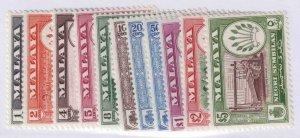 Malaya Negri Sembilan 64 - 74 Mint à Charnières Og N° Défauts Extra Fin