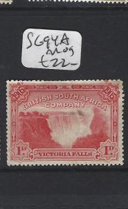 RHODESIA (P1206B) WATERFALLS 1D  SG 94A    MOG