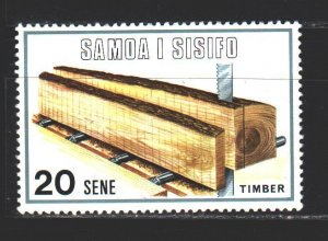 Samoa. 1971. 234 from the series. Woodworking. MNH.