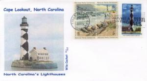 2003 Cape Lookout Lighthouse Combo (Scott 3788) Wile