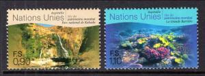 UN Geneva 333-334 Australia MNH VF