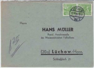 germany berlin 1949  business  stamps cover ref r19706