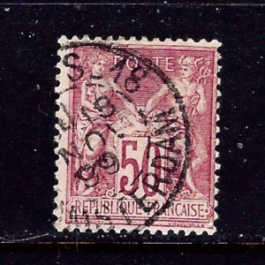 France 101 Used 1890 issue