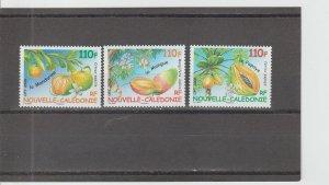 New Caledonia  Scott#  1044-1046  MNH  (2008 Fruit)