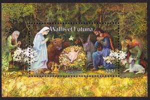 Wallis and Futuna Christmas MS 2006 MNH SG#MS907