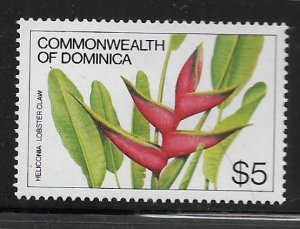 DOMINICA, 732, HINGED, HELICONIA LOBSTER CLAW