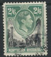 Northern Rhodesia  SG 41  SC# 41 Used see detail and scan