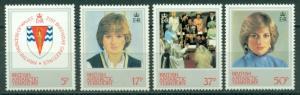 British Antarctic Territory #92-95  Mint  VF NH  CV $5.30