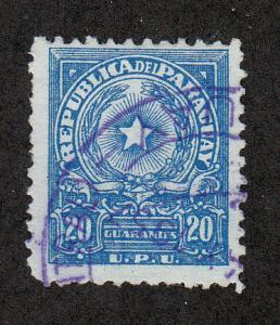 Paraguay Scott #506 Used