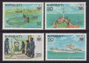 1981 Kiribati Tuna Fishing Industry Set U/M
