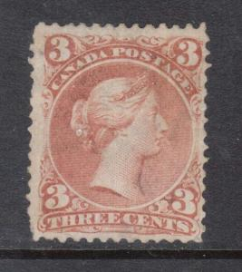 Canada #25a Mint **With Certificate**
