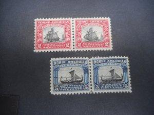 U.S. # 620 & 621 VFNH Pairs