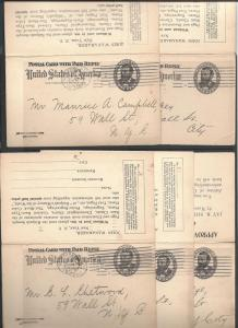 MR5 (UY4) Five Cards, Postal Cards