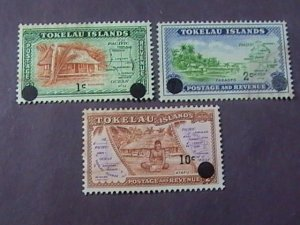 TOKELAU # 9-11-USED---COMPLETE SET----1967