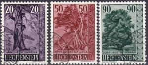 Liechtenstein #332-4  F-VF Used CV $6.00 (A18730)