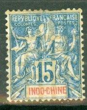 CW: Indochina 10 mint CV $42.50