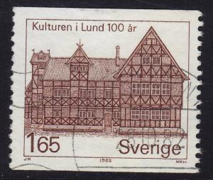 Sweden - 1982 - Scott #1402 - used - Burgher House Lund