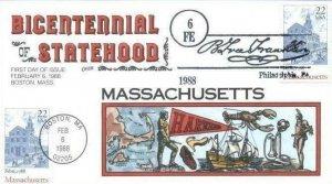 COLLINS HAND PAINTED 2341 M1301 Massachusetts