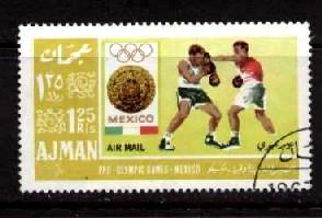 Boxing, 1964 Summer Olympic Games, Mexico City, Ajman used