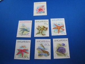 ALBANIA 1966 - SCOTT #  934-940   MNH