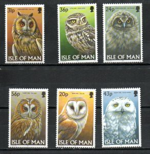 Isle of Man 727-732 MNH
