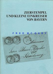 Philatelic Literature: Bavarian Cancellation Reference by G. Rütger  - Nice!