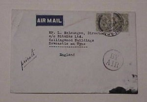 IRAQ  BY AIRMAIL FROM BOMBAY 19 OCT 1930 TO ENGLAND