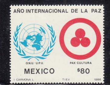 MEXICO Scott 1460 MNH** 1986 stamp