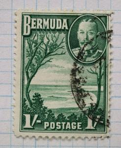 Bermuda sc#113 1sh 1/ shilling cv$19.00 used