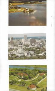 Canada .08 Postal Cards, 5 Dif. With Scenes From Manitoba Mint