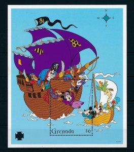 [22554] Grenada 1995 Disney Characters and pirate ship MNH