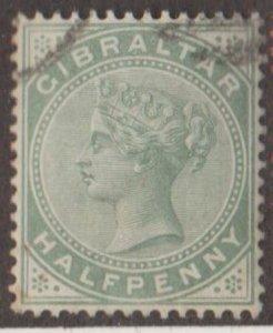 Gibraltar Scott #8 Stamp - Used Single
