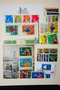 Worldwide Mint Olympic Sports Stamp Selection