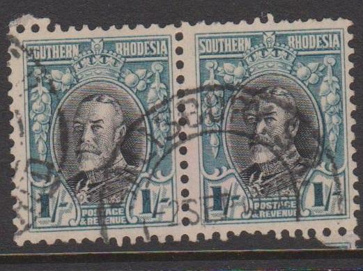 Southern Rhodesia Sc#26a Used Pair