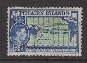 Pitcairn Islands Sc#5 Used