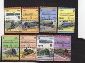 Nevis Trains MNH