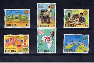 LIBERIA  ROTARY INTERNATIONAL 75th ANNIVERSARY