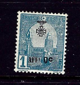 Tunisia B20 MH 1923 Overprint