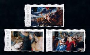 [75909] Grenada 2009 Painting Rubens Marie de Medici and Henri IV  MNH