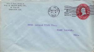 United States, Postal Stationery, Illinois