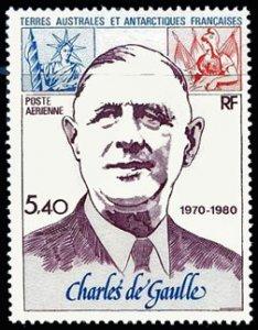 Scott #C60 Charles de Gualle MNH