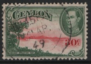 CEYLON, 285, USED, 1938-52, Ancient Reservoir