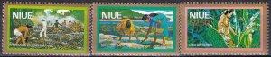 Niue #C6-8  MNH CV $5.10  (Z6286)