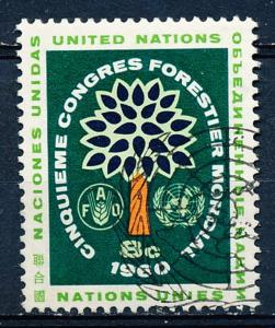 United Nations - New York #82 Single Used