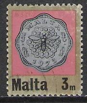 Malta #440 Decimal Currency Coins Used